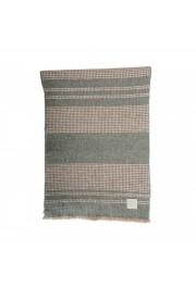 Salvatore Ferragamo Multi-Color Silk Wool Checkered Shawl Scarf: Picture 2