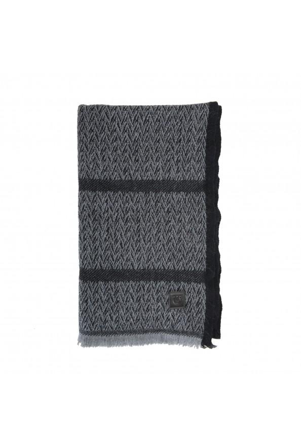 Salvatore Ferragamo Multi-Color Cashmere Wool Geometric Print Shawl Scarf: Picture 2