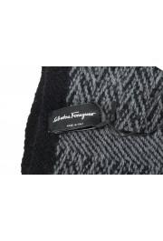 Salvatore Ferragamo Multi-Color Cashmere Wool Geometric Print Shawl Scarf: Picture 4