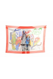 Dsquared2 Multi-Color Graphic Print Large Shawl Scarf