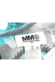 Maison Margiela MM6 Multi-Color Graphic Print Large Pareo Shawl Scarf: Picture 2