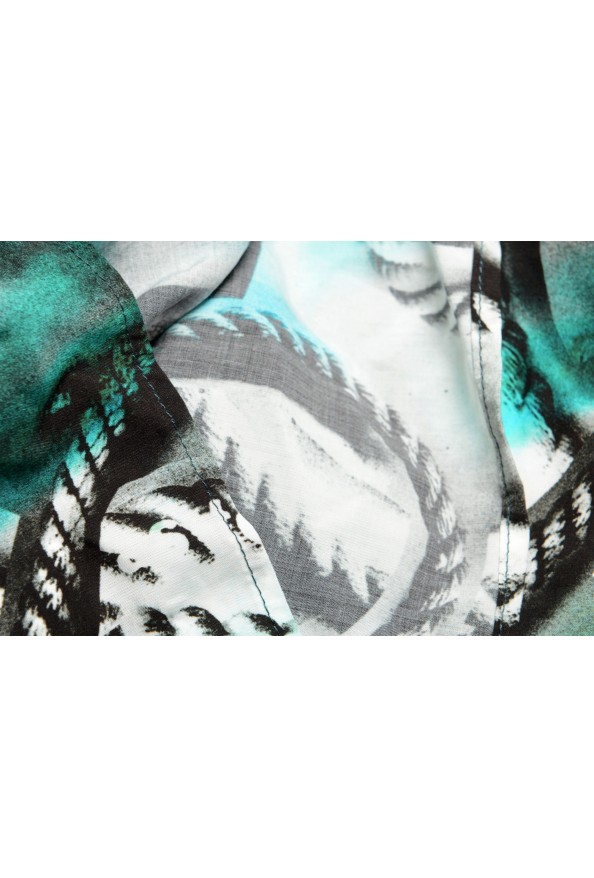 Maison Margiela MM6 Multi-Color Graphic Print Large Pareo Shawl Scarf: Picture 3