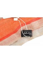 Salvatore Ferragamo Multi-Color Linen Cashmere Striped Shawl Scarf: Picture 3