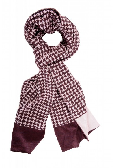 Just Cavalli Multi-Color Wool Checkered Scarf