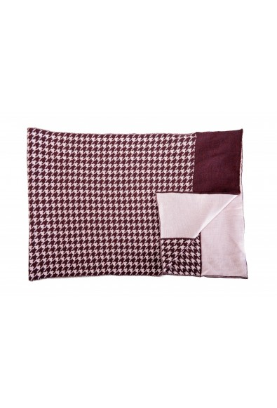 Just Cavalli Multi-Color Wool Checkered Scarf: Picture 2