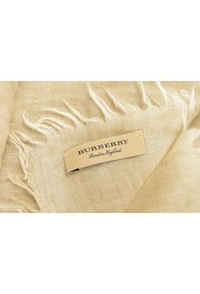 Burberry 100% Cashmere Beige Shawl Scarf: Picture 3