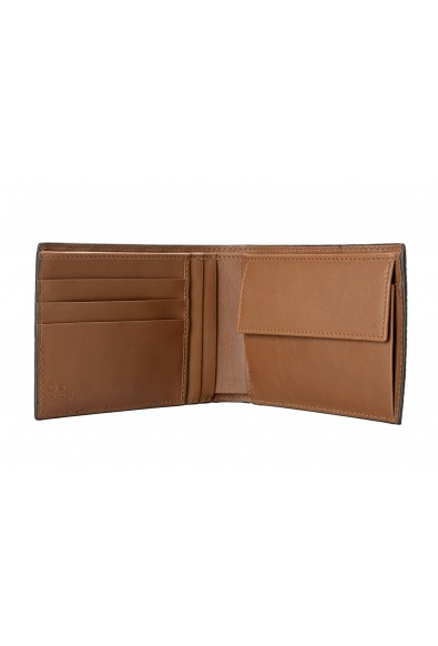 Gucci Men's Brown Leather Microguccissima Bifold Wallet: Picture 2