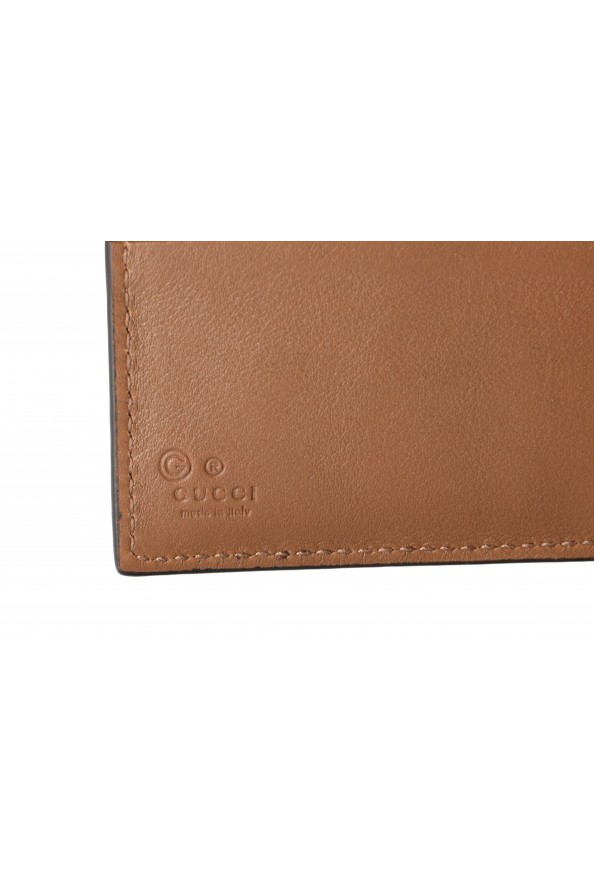 Gucci Men's Brown Leather Microguccissima Bifold Wallet: Picture 3