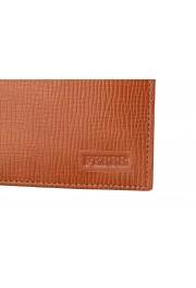Gianfranco Ferre Men's Cognac Brown 100% Textured Leather Bifold Wallet: Picture 2
