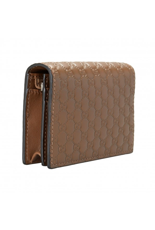 Gucci Women's Brown Leather Microguccissima Wallet: Picture 2