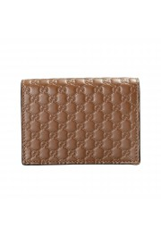 Gucci Women's Brown Leather Microguccissima Wallet: Picture 4