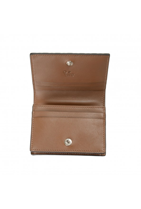 Gucci Women's Brown Leather Microguccissima Wallet: Picture 5