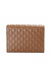 Gucci Women's Brown Leather Microguccissima Wallet