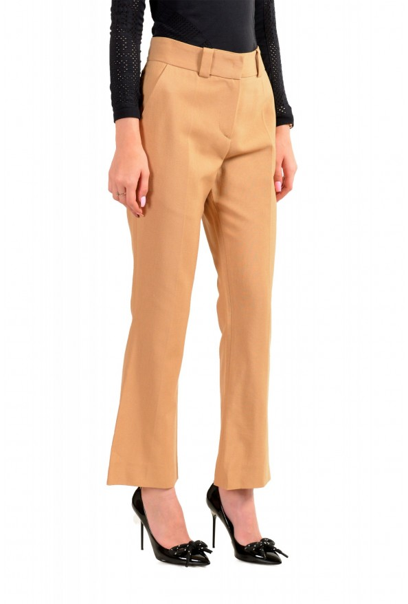 Just Cavalli Women's Beige Flat Front Casual Pants: Picture 2