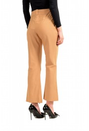 Just Cavalli Women's Beige Flat Front Casual Pants: Picture 3