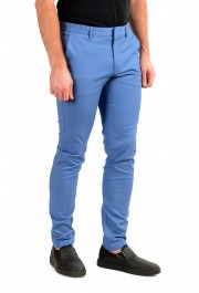 """Hugo Boss Men's """"Kaito1"""" Blue Flat Front Stretch Casual Pants : Picture 2"""