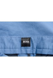 """Hugo Boss Men's """"Kaito1"""" Blue Flat Front Stretch Casual Pants : Picture 5"""