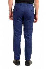 "Hugo Boss Men's ""Ben2"" Slim Fit Blue 100% Wool Flat Front Pants : Picture 3"