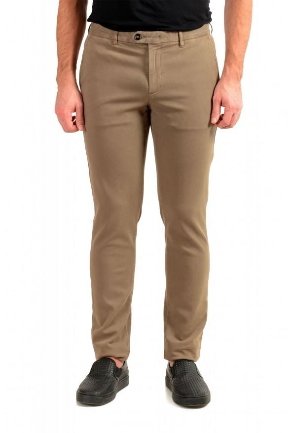 "Hugo Boss Men's ""Kaito1-Det-W2"" Flat Front Stretch Casual Pants"
