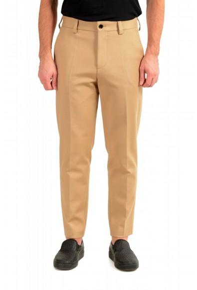 "Hugo Boss Men's ""Parin3"" Beige Fashion Fit Casual Pants"