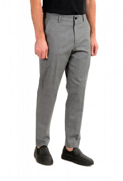 "Hugo Boss Men's ""Perin3"" Gray Plaid Pants : Picture 2"