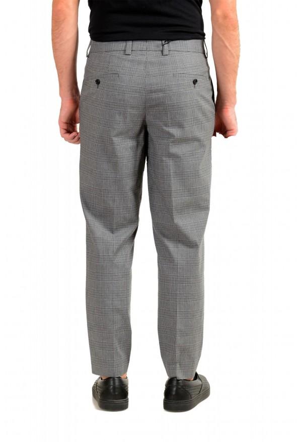 "Hugo Boss Men's ""Perin3"" Gray Plaid Pants : Picture 3"