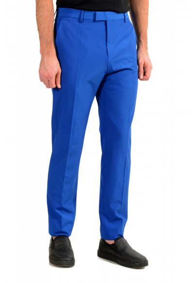 "Hugo Boss Men's ""Cliff/Floyed"" Royal Blue Flat Front Pants: Picture 2"
