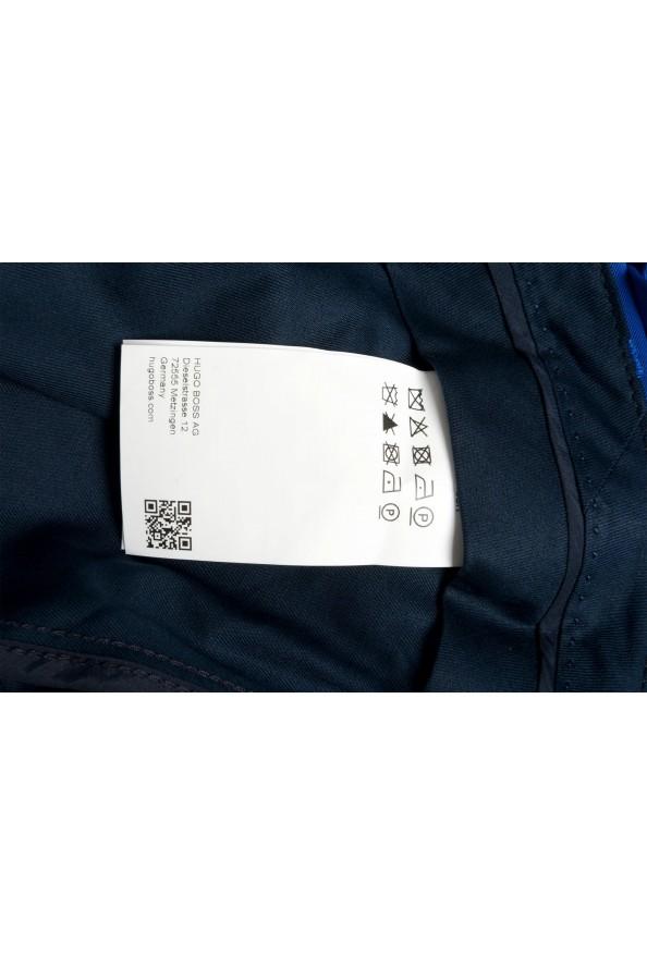 "Hugo Boss Men's ""Cliff/Floyed"" Royal Blue Flat Front Pants: Picture 4"