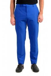 "Hugo Boss Men's ""Cliff/Floyed"" Royal Blue Flat Front Pants"