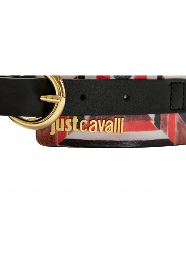 Just Cavalli Women's Multi-Color 100% Leather Wide Belt: Picture 2
