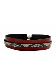 Just Cavalli Women's Multi-Color 100% Leather Wide Belt: Picture 5