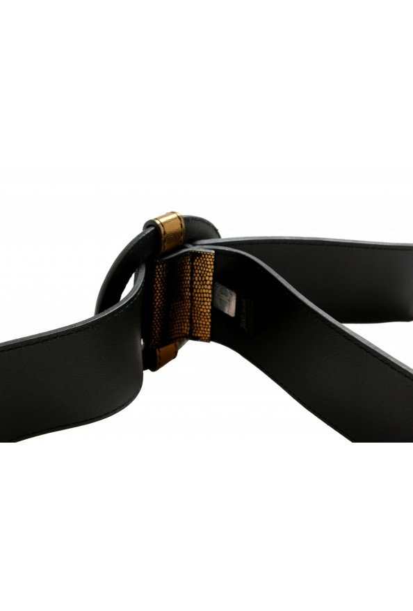 Just Cavalli Women's 100% Textured Leather Buckle Decorated Belt: Picture 5