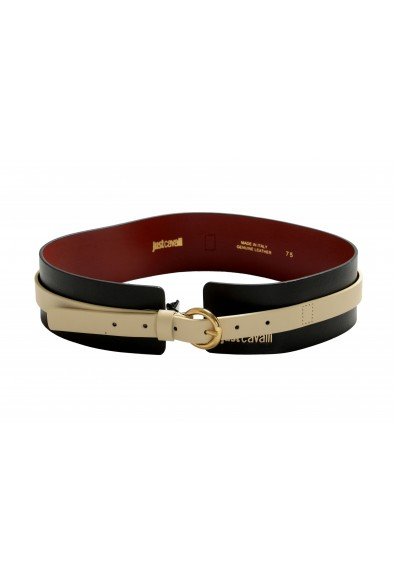 Just Cavalli Women's Multi-Color 100% Leather Wide Belt