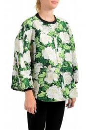 "Moncler Women's ""ANASTASI"" Floral Print Jacket: Picture 2"