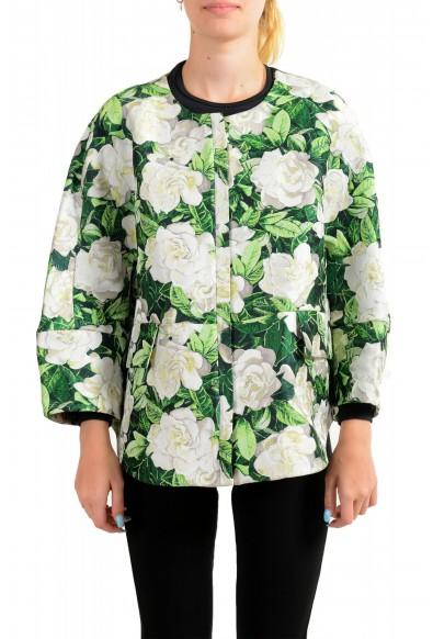 "Moncler Women's ""ANASTASI"" Floral Print Jacket"