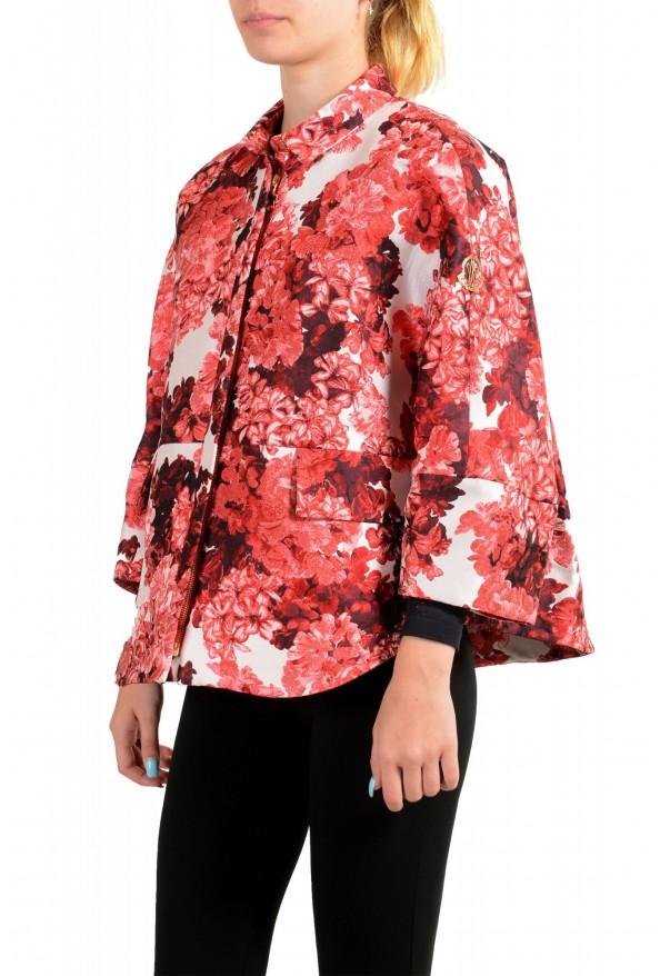 "Moncler Women's ""Nika Cole"" Floral Print Jacket: Picture 4"
