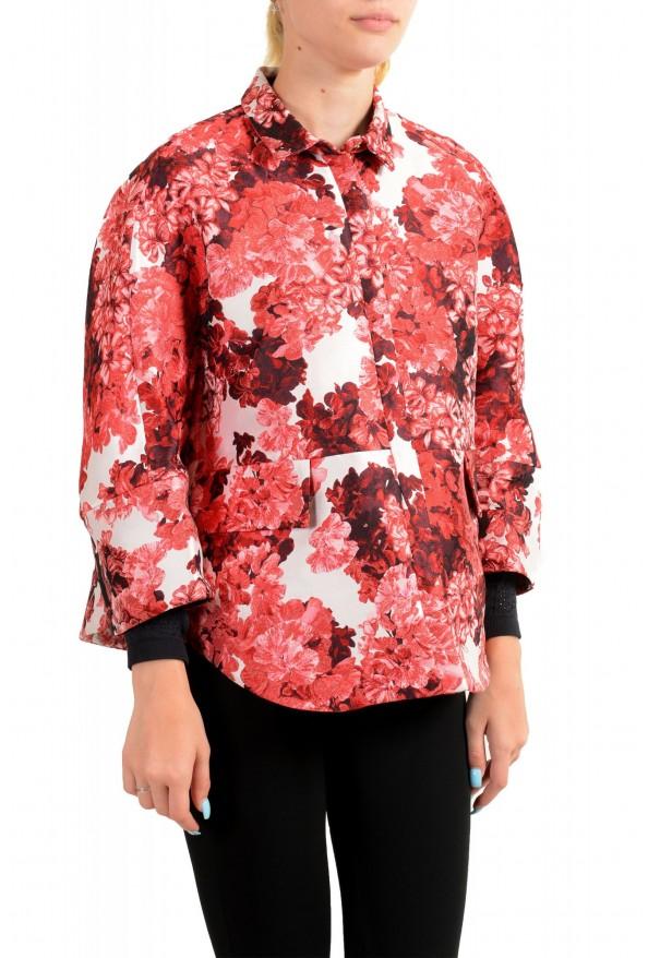 "Moncler Women's ""Nika Cole"" Floral Print Jacket: Picture 2"