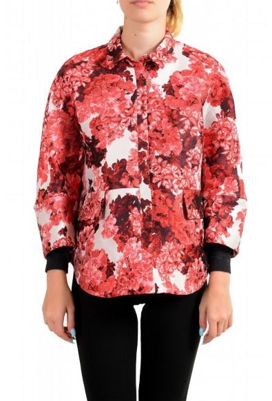 "Moncler Women's ""Nika Cole"" Floral Print Jacket"