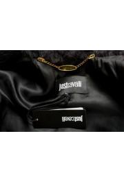 Just Cavalli Women's Wool Alpaca Rabithair Trimmed Collar Coat : Picture 6