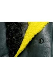 Just Cavalli Women's 100% Lamb Fur Goat Hair Trimmed Shearling Coat : Picture 7