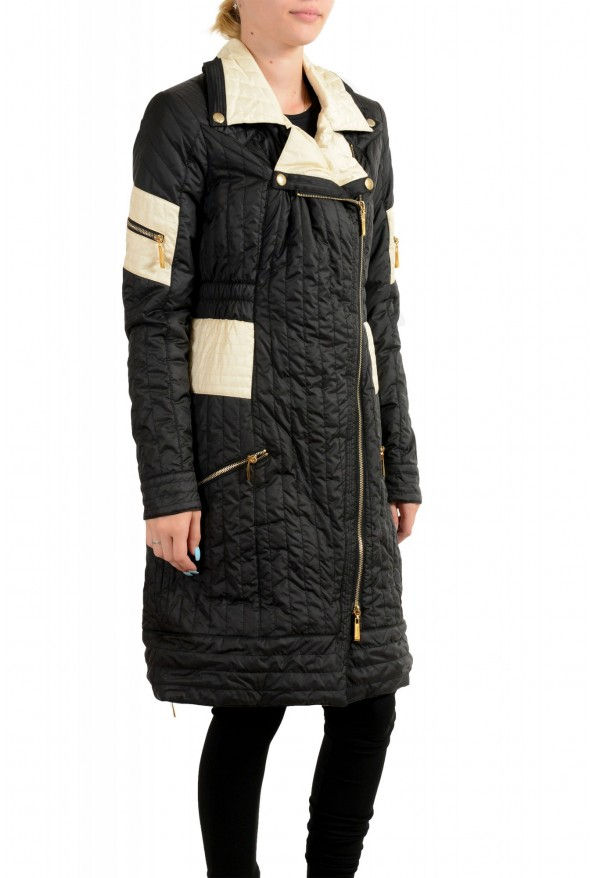 Just Cavalli Women's Multi-Color Lightly Insulated Parka Coat: Picture 2