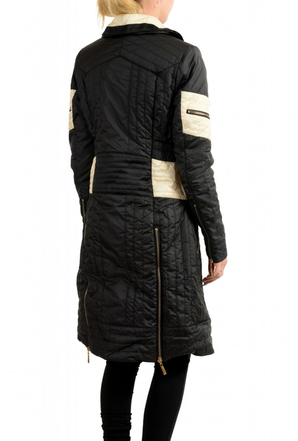 Just Cavalli Women's Multi-Color Lightly Insulated Parka Coat: Picture 3