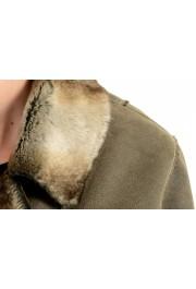Armani Jeans AJ Women's Gray Faux Fur Shearling Coat: Picture 4