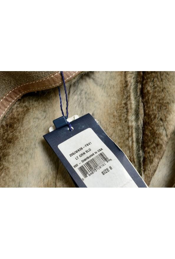 Armani Jeans AJ Women's Gray Faux Fur Shearling Coat: Picture 6