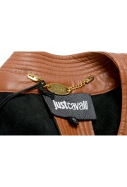 Just Cavalli Women's Perforated 100% Leather Bomber Jacket : Picture 5