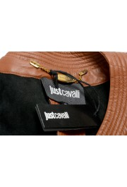 Just Cavalli Women's Perforated 100% Leather Bomber Jacket : Picture 6