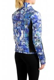 Just Cavalli Women's Multi-Color Floral Print Down Parka Jacket : Picture 3