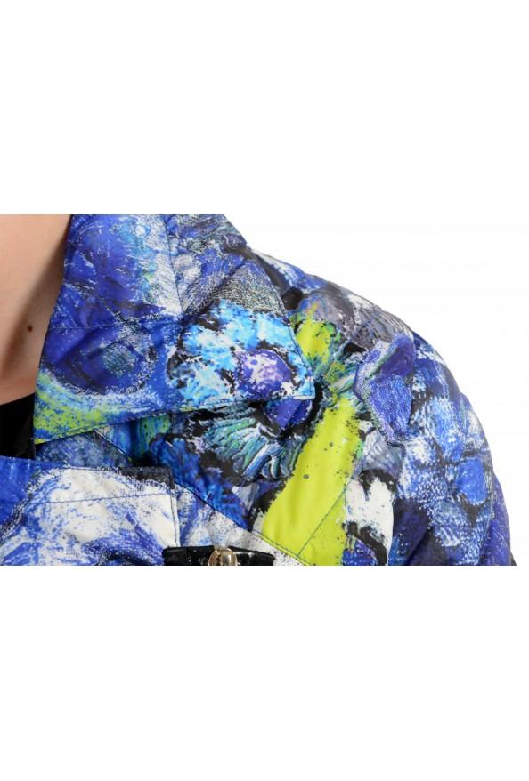 Just Cavalli Women's Multi-Color Floral Print Down Parka Jacket : Picture 4
