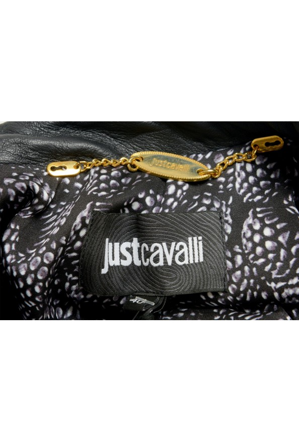 Just Cavalli Women's Two-Tone 100% Leather Bomber Jacket : Picture 5
