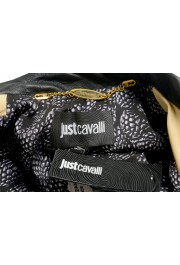 Just Cavalli Women's Two-Tone 100% Leather Bomber Jacket : Picture 6